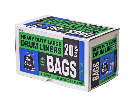 HBC Drum Liners for Pond, 55-Gallon