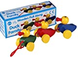 Wooden Pull Along Set Of 3 Ducks Toy