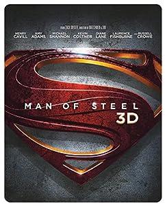 Man of Steel - Limited Edition Steelbook [Blu-ray 3D + Blu-ray] [2013] [Region Free]