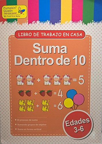 Sum within 10 / Suma dentro de 10. Aprende español / Learn Spanish - Libro de actividades para niños / Activities for kids - 1
