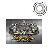 プリンセスカラーオプティカル グレー、カラーコンタクト#BC:8.7 パワー:-1.25 ランキングお取り寄せ