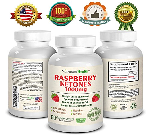 Raspberry Ketones 1000mg. Best Weight Loss & Appetite