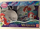 Disney's Little Mermaid 4 Piece Mealtime Set By Zak Designs.