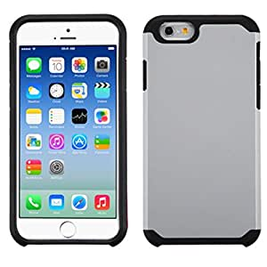 MyBat Carrying Case for Apple iPhone 6 - Retail Packaging - Silver/Black