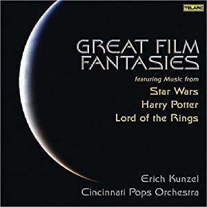 Great Film Fantasies - Star Wars Harry Potter Lord Of The Rings from Telarc Classical