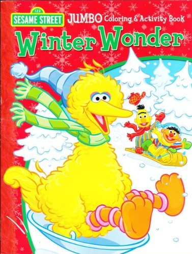 Sesame Street Winter Wonder Coloring and Activity Book