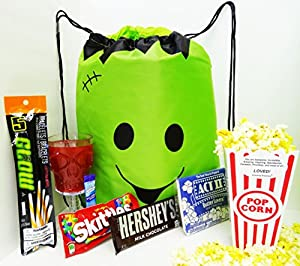 Unlocking Greatness You Are LOVED Drawstring Halloween Gift Bag Basket
