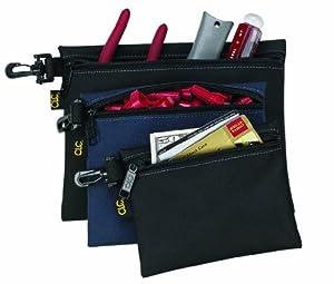 Custom Leathercraft 1100 Multi-Purpose Clip-on Zippered Poly Bags