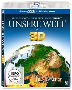 Unsere Welt [3D Blu-ray + 2D Version]