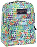 JanSport Classic SuperBreak Backpack, White/Gradient Halma