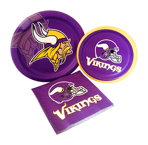Minnesota Vikings Football Party Supply Pack!