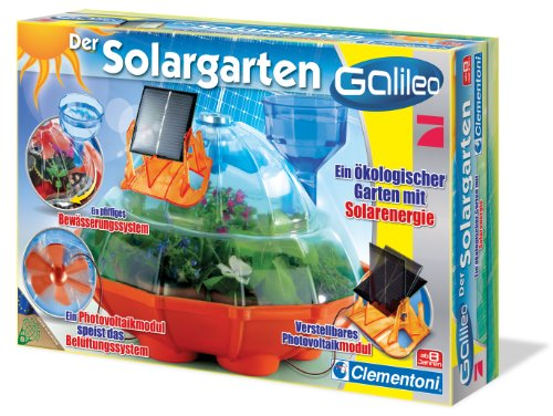 Clementoni 69232.3 - Galileo - Der Solargarten