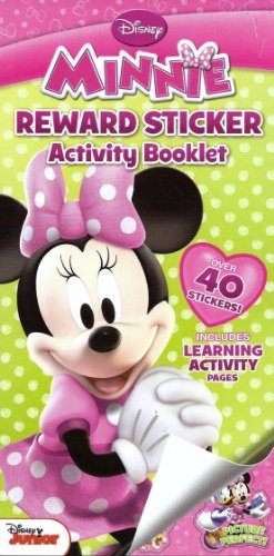 Disney Minnie Mouse Reward Activity Booklet with Over 40 Stickers