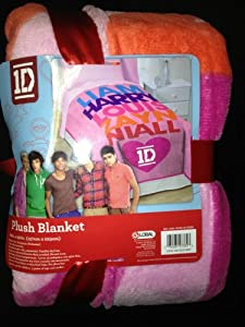 One Direction Twin Comforter Size Plush Blanket