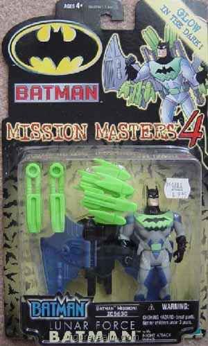 Buy Low Price Kenner Batman (Lunar Force) from Batman – Mission Masters Series 4 Action Figure (B0013OXV80)