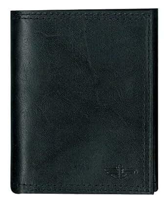 Dockers Men's Trifold Wallet,Black,One Size