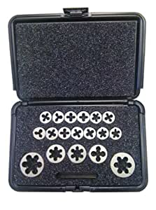Split Die Thread Repair Kit: Metric - Master (18 Thread Chasers)