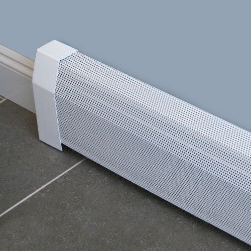Baseboarders Baseboard Heater Cover Straight Kit 7ft Length (Radiator Cover Baseboard compare prices)