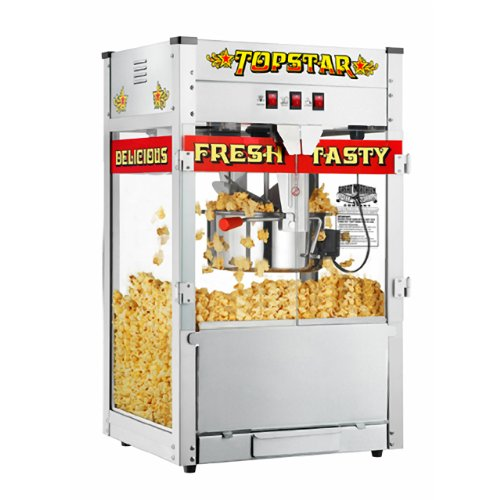 Great Northern Popcorn TopStar Antique Style Popcorn Popper Machine with 12 Oz Kettle - Our Biggest Popper!
