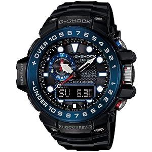 [カシオ]CASIO 腕時計 G-SHOCK ガルフマスター 世界6局電波対応ソーラー GWN-1000B-1BJF メンズ
