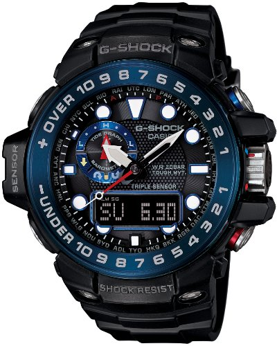 G-Shock GWN1000B Master of G Series Quality Watch - Black / One Size
