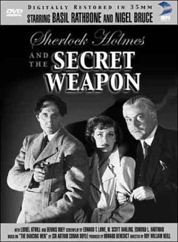 Sherlock Holmes and the Secret Weapon Cover