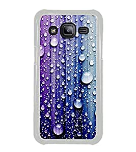 Droplets on Colourful Wall 2D Hard Polycarbonate Designer Back Case Cover for Samsung Galaxy J2 J200G (2015) :: Samsung Galaxy J2 Duos :: Samsung Galaxy J2 J200F J200Y J200H J200GU