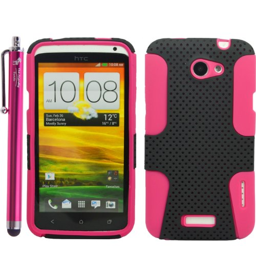 2 in 1 Hybrid Silicone Snap-on Case Cover Skin