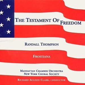 Thompson:  Testament of Freedo
