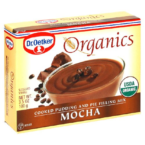 Buy Oetker Organic Mocha Pudding And Pie Mix, 12-Count, 3.5 Ounce (Pack of 2) (Dr. Oetker, Health & Personal Care, Products, Food & Snacks, Baking Supplies, Baking Mixes, Pudding Mixes)