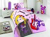 De una sola Samyeli diseño de guitarras de edredón para cama individual cubierta frontal y trasera para (de 16 lote de 220 cm, diseño de)