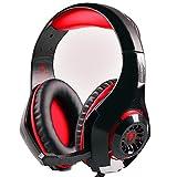 Amazon.co.jpBeexcellent ゲーミング ヘッドセットPS4 ヘッドホン 高音質 重低音 騒音隔離 軽量