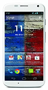 Motorola Moto X - 1st Generation, White 16GB (AT&T)
