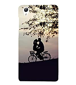 Vizagbeats cycling lovers Back Case Cover for Vivo Y51 L