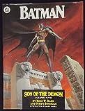 BATMAN SON OF THE DEMON HARDCOVER 1ST PRINTING + BATMAN SOFTCOVER 5TH PRINT