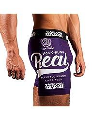 Scramble Real Mens Vale Tudo Shorts Purple