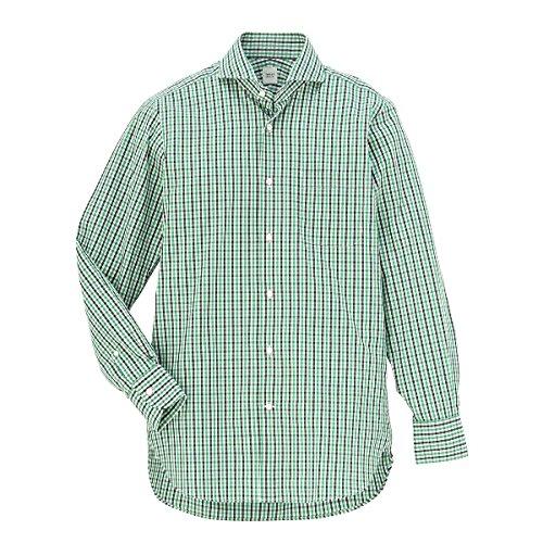 タケオキクチ(TAKEO KIKUCHI) 【ON/OFF兼用】シャツ(カラーギンガムチェックシャツ)【224モスグリーン/L】