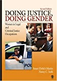 img - for Doing Justice, Doing Gender: Women in Legal and Criminal Justice Occupations (Women in the Criminal Justice System) book / textbook / text book