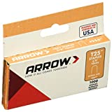 Arrow Fastener 256 Genuine T25 3/8-Inch Staples, 1,000-Pack