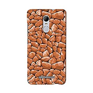 ArtzFolio Stone Décor : Redmi Note 3 Matte Polycarbonate ORIGINAL BRANDED Mobile Cell Phone Protective BACK CASE COVER Protector : BEST DESIGNER Hard Shockproof Scratch-Proof Accessories