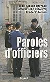 echange, troc Jean-Claude Barreau - Paroles d'officiers