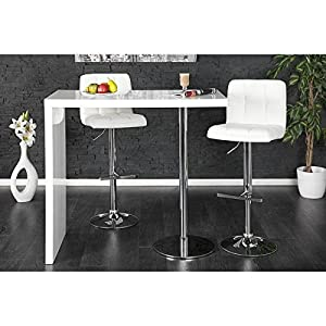 Neofurn - DUO - design bar table white high gloss kitchen