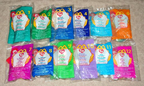 Ty Beanie Babies - 1999 Complete SET of 12 McDonald's TY BEANIE Babies - 1