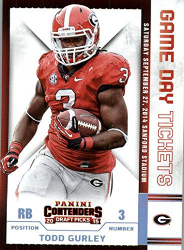 2015 Contenders Draft Picks Rookie Football Card #46 Todd Gurley NM-MT (Georgia Football Tickets compare prices)