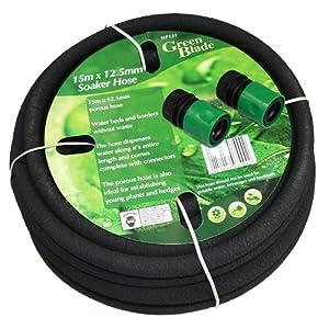 15m porous garden soaker hose garden outdoors