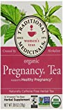 Traditional Medicinals Organic Pregnancy Herbal Tea, 16-Count Wrapped Tea Bags (Pack of 6)