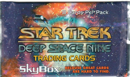 Star Trek Deep Space Nine Trading Cards - Pack of 8 - 1