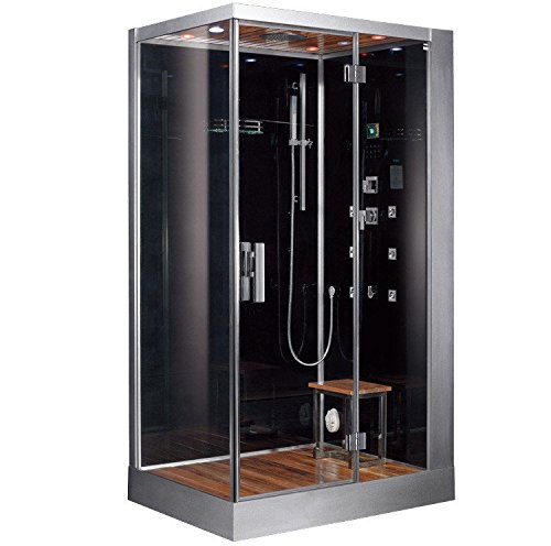 DZ959F8-Platinum-Steam-Shower-Sauna-Enclosure-Jetted-Spa-Right-Side