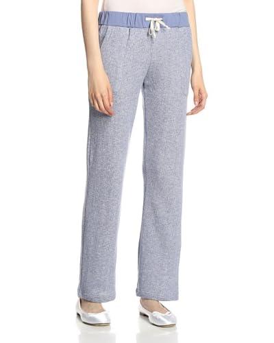 Aegean Apparel Women's Heathered Knit Lounge Pants