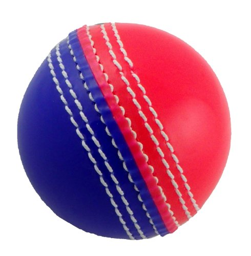 Upfront Opttium INCREDIBALL Training Cricket Ball - Pink/Blue - JUNIOR